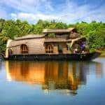 Houseboat on the Kerala backwaters