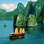 Halong Bay junk boat cruise