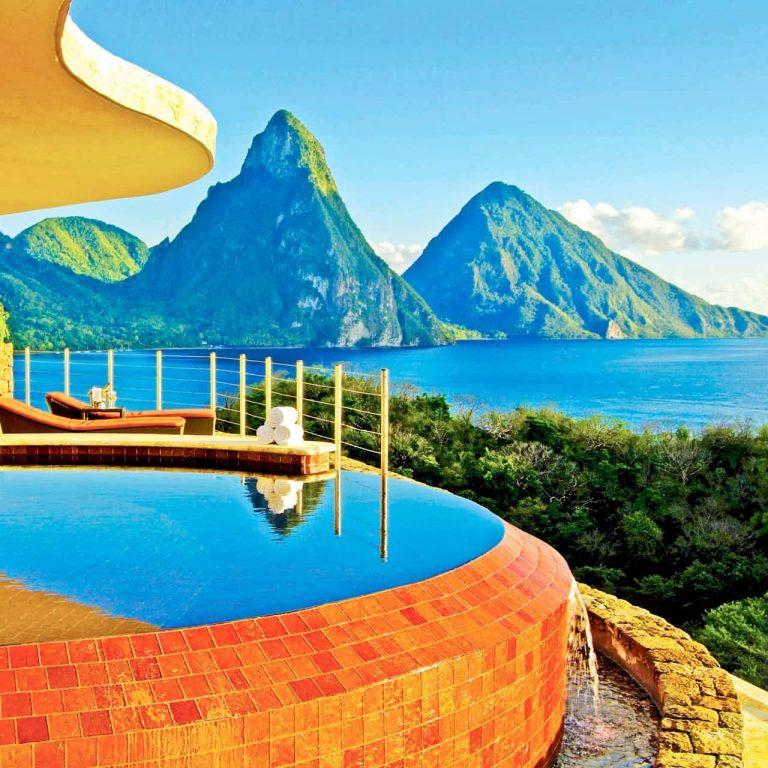 St Lucia - Jade Mountain