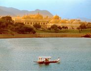 Oberoi Udaivilas on Lake Pichola