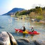 Kayaking at Pumulani