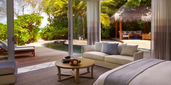 Deluxe Beach Villa, The Viceroy Maldives