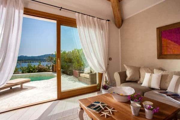 Luxury suite, Relais Villa del Golfo