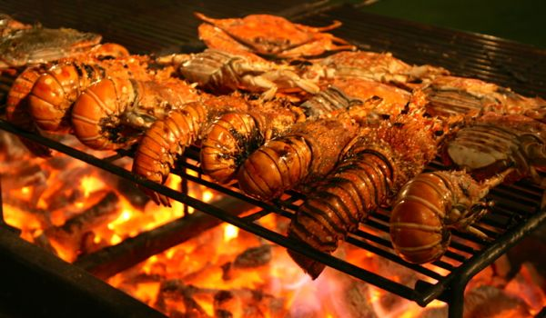 Seafood grill, Vietnam