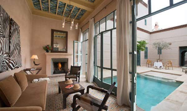 Honeychat 101 honeymoons for Riad piscine privee marrakech