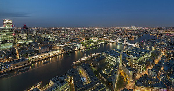 View - Shangri-La Hotel, At The Shard, London
