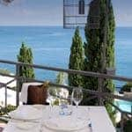 Romantic restaurants on the coast
