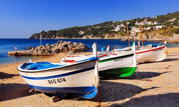 Catalunya coastline