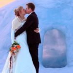 Ice Hotel honeymoon